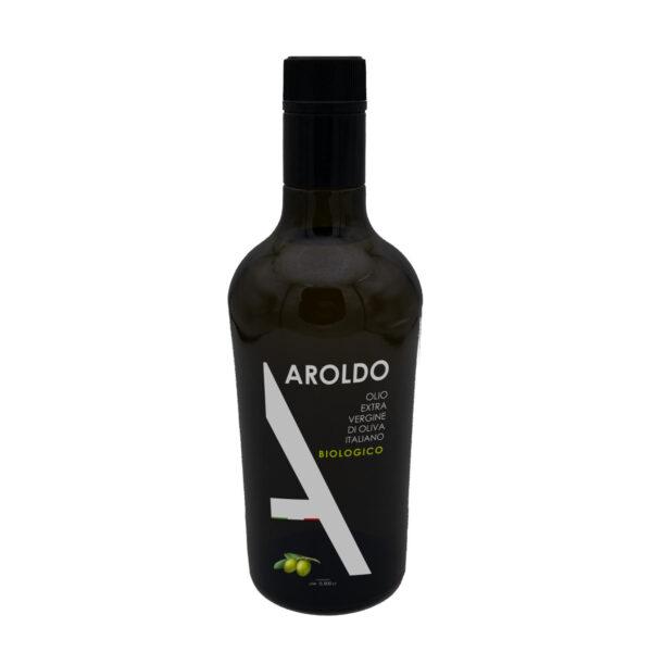 Olio Aroldo Bio EVO Bottiglia 2019 1