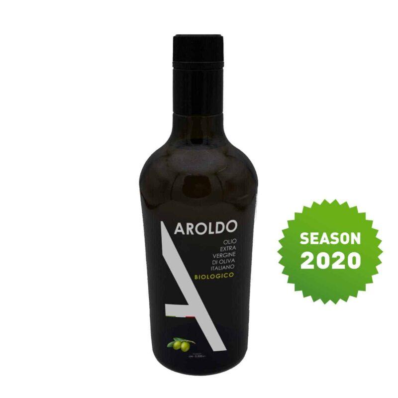 Olive Oil Aroldo Bio EVO Bottle 1