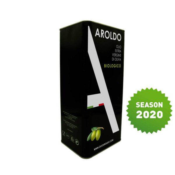 Olive Oil Aroldo Bio EVO Tin 2
